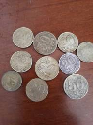 Vendo moedas e dinheiro antigos