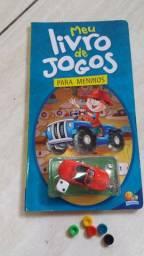 Livro de jogos para meninos Editora Todolivro