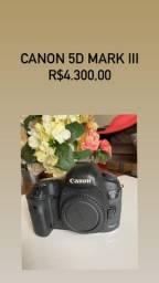 Câmera Canon 5D Mark III