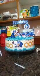 Bolos de simples e bolos pra festa