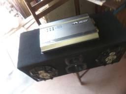 Vendo caixa de som dois 6x9 uma coneta e uma tuitar e uma força