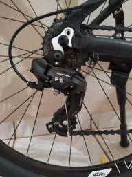 Bike bicicleta mtb HIGHONE aro 29 transmissão e freios Shimano amortecedor com trava.