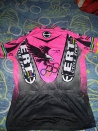 Camisa de Ciclismo Ert original (Tamanho GG)