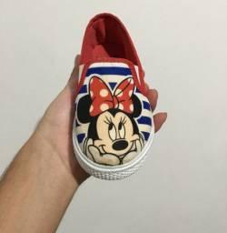 Sapatos infantis femininos novos