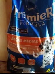 Ração Premier filhotes Super Premium raças médias 20kg pacote fechado! Eduardo Gomes.