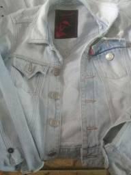 jaqueta jeans damyler