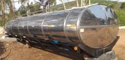 Tanque inox rodoviário isotermico