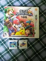 Vendo jogos de Nintendo 3ds