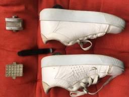 Seis calçados infantis