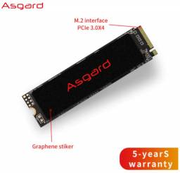 Ssd Asgard M.2 Nvme 500gb 3D Nand