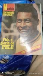 Revista especial Pelé coleção