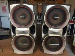 Caixas acústicas Sony modelo Ss-dx9