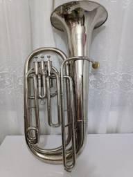 Tuba Condor 3/4 Compacta 3 Pistos Níquel - Oferta