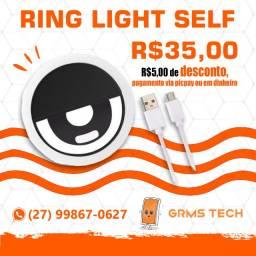 Ring Light Self - Loja 01 Grms Tech