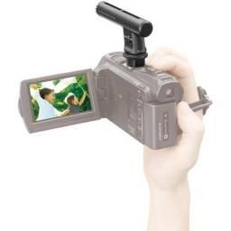 Microfone Zoom pra Handycam Sony Original - Ecm-hgz1