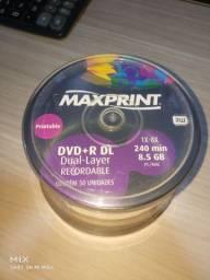 Dvd+R DL. 50 unidades