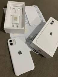 Iphone 11 branco 64gb garantia até novembro 2020