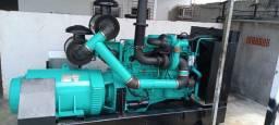 Gerador Diesel 350 KVA motor Cummins NTTA 855 pronto pra uso