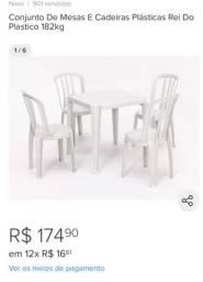 20 kits , 4 cadeiras e 1 mesa