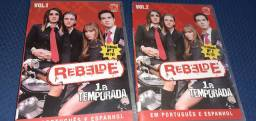 DVDs Rebelde - Primeira Temporada