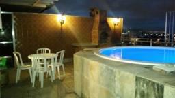 Panorâmica cobertura Duplex 245m² - Jacarepaguá. 15 min Barra