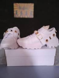 Sneaker Chunky tratorado