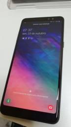 Samsung Galaxy A8+ (Plus) Preto 64Gb.