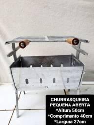 CHURRASQUEIRAS DESMONTÁVEL APARTIR DE 125,00 REAIS