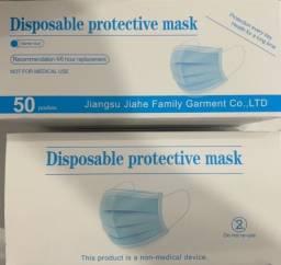 Máscara Descartável 3 Camadas Caixa c/ 50 un