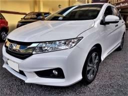 Honda city exl 1.5 flex completo,1 dono,cambio cvt,couro,dir.elet.,ac digital,etc,placa a