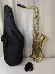 Saxofone Sib Tenor Weril Armando Weingrill Zerado Completo