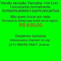 Teclado Yamaha PSR E 243