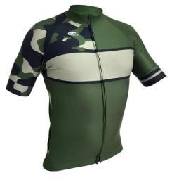 Camiseta De Ciclismo Camuflada Gtx Mtb Speed