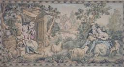 Quadro Tapeçaria Vintage Antigo - leia