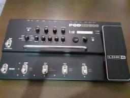 Pedaleira pra guitarra Line6 PodHD 300