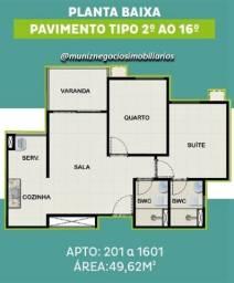 Título do anúncio: 4Isg Não deixe a oportunidade passar Apartamento na Madalena com varanda 2 Q sendo 1 suíte