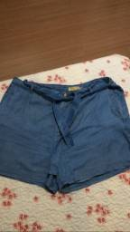 Short seminovo Plus Size