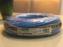 Fio 16mm Cobre , na cor azul aceito cartão e pix.