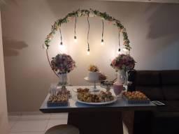 kit de decoração mini festa