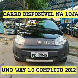 Fiat Uno Way 1.0 Compl 2012 Com Kit Gás
