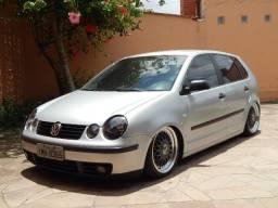 """VW Polo 1.6 2005 - Suspensão a Ar Legalizado + BBS 17"""""""