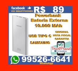 -O-R-I-G-I-N-A-L- Samsung powerbank 10000mah usb tipo C bateria externa samsung