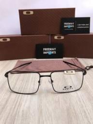 Óculos Oakley K8 black armação de alumínio