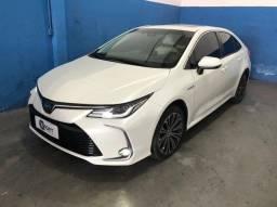 Título do anúncio: Corolla 1.8 Altis Premium Hybrid 2020 / Somente 16mil km / novo novo