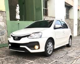 Etios XLS 1.5 automático 2017/2018, 27 mil km novíssimo