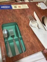 Faqueiro Brinox Gourmet Faqueiro Aço Inoxidável Lacrado 48 Peças
