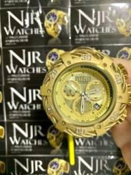 Relógio Invicta thunderbolt dourado novo