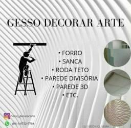 SERVIÇO DE GESSO