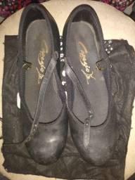 Sapato de sapateado cinderela, número 36/37