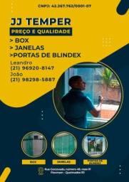 Título do anúncio: BLINDEX PROMOÇÃO,traga seu orçamento ! Temos preço de fábrica,box,porta e janela.